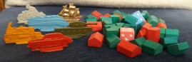 1950s Monopoly games pieces