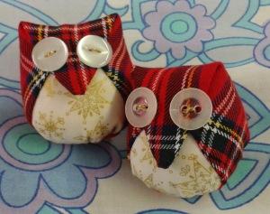 tartan owls