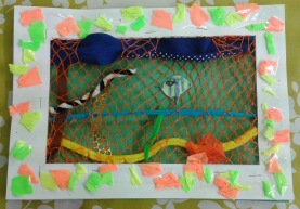 Fishy Weaving by Megan