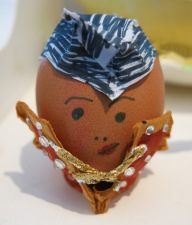 Elvis Egg Decoration.