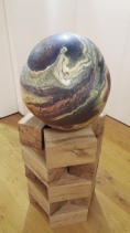 Peter Randall Page sculpture at the Gibbard Gallery in Harlow.