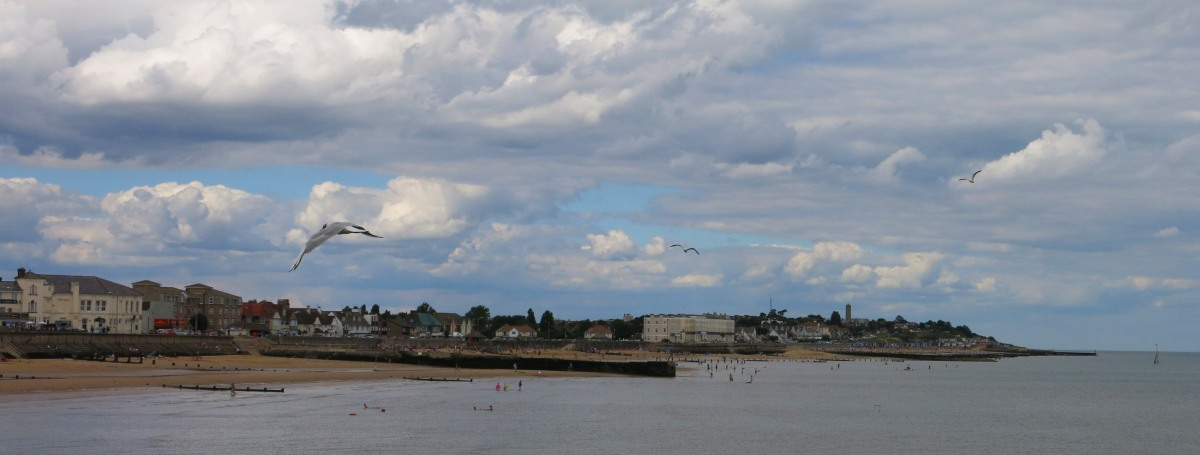 View from Walton on the Naze pier.